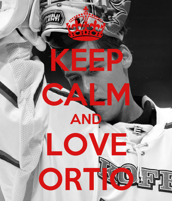 KEEP CALM AND LOVE ORTIO