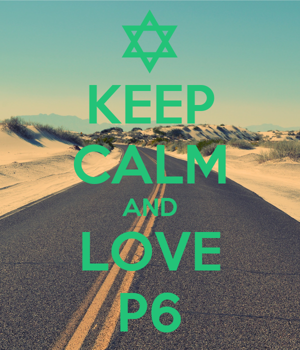 KEEP CALM AND LOVE P6