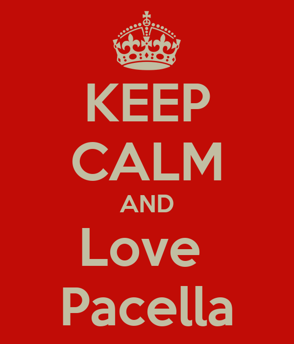 KEEP CALM AND Love  Pacella