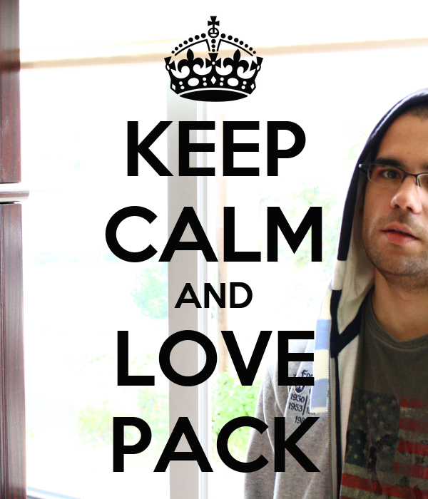 KEEP CALM AND LOVE PACK