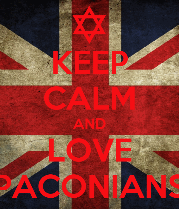 KEEP CALM AND LOVE PACONIANS