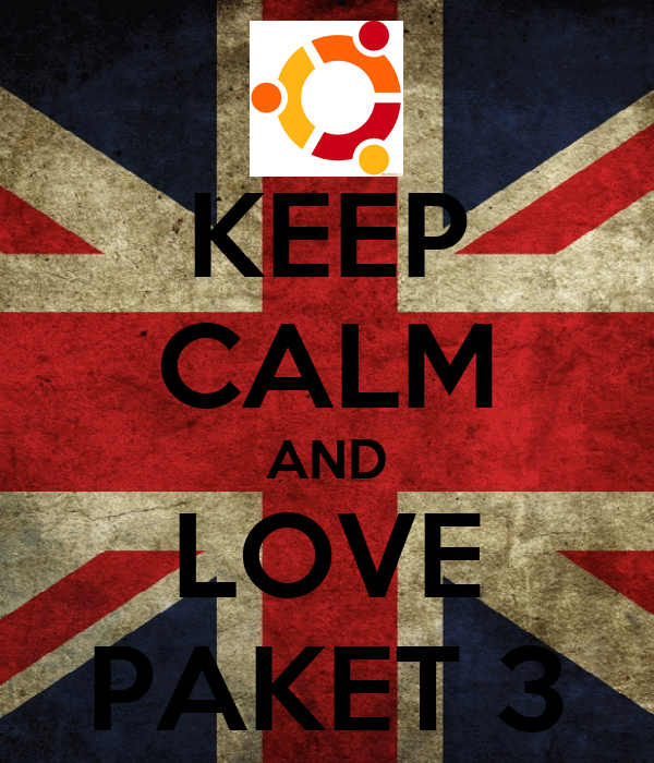 KEEP CALM AND LOVE PAKET 3