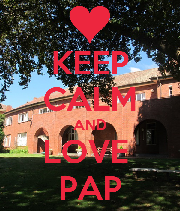 KEEP CALM AND LOVE  PAP