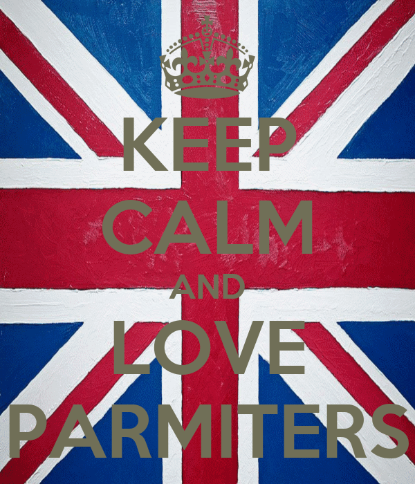 KEEP CALM AND LOVE PARMITERS