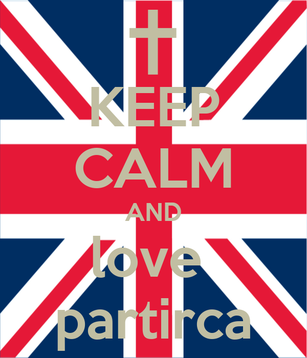 KEEP CALM AND love  partirca