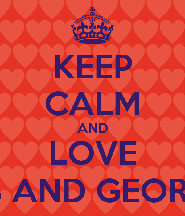 KEEP CALM AND LOVE PATRIOTS AND GEORGIA TECH