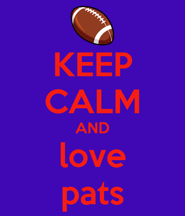KEEP CALM AND love pats
