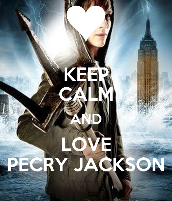 KEEP CALM AND LOVE PECRY JACKSON