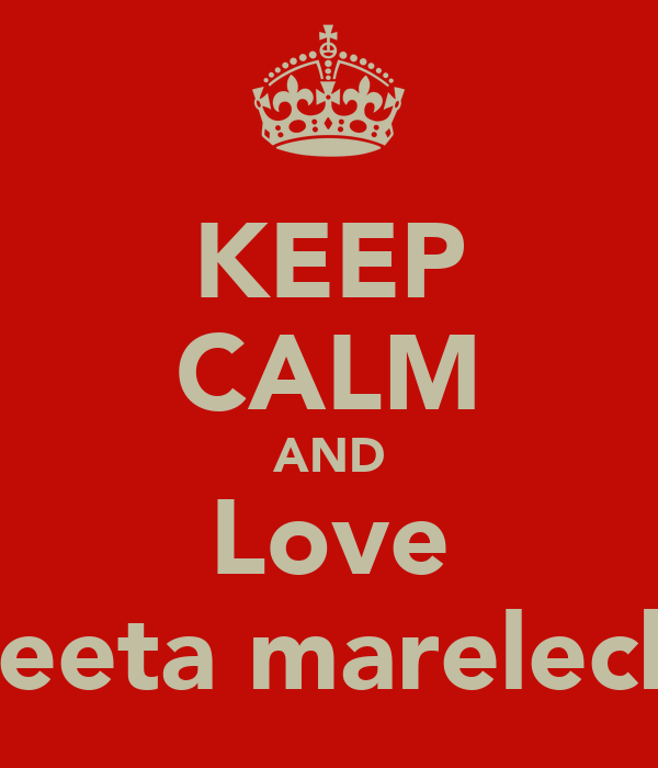 KEEP CALM AND Love Peeta mareleck
