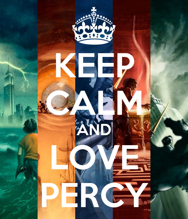 KEEP CALM AND LOVE PERCY