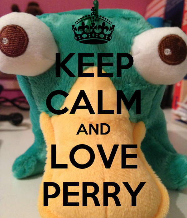 KEEP CALM AND LOVE PERRY