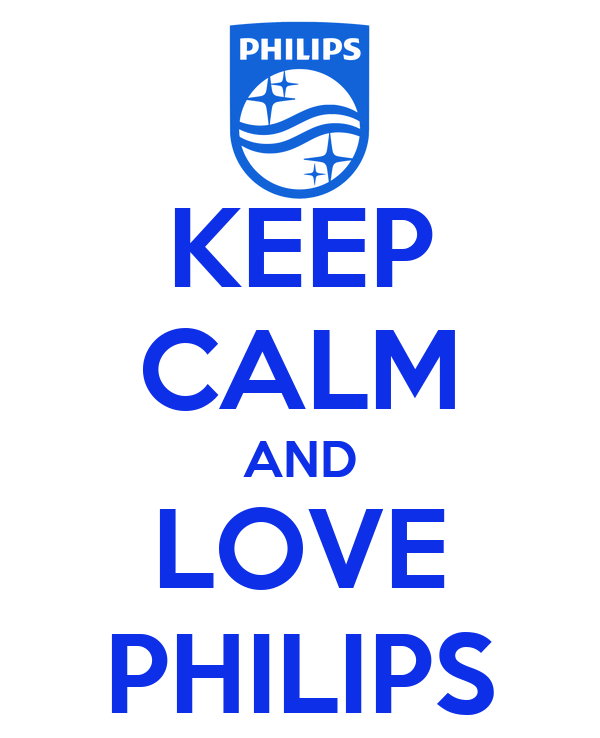KEEP CALM AND LOVE PHILIPS