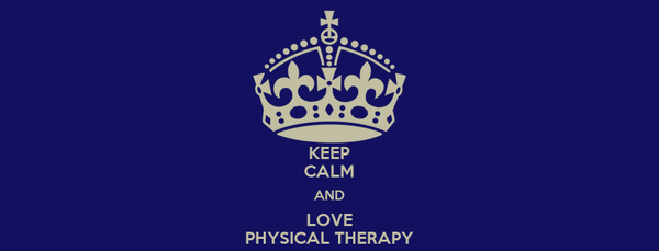 KEEP CALM AND LOVE PHYSICAL THERAPY