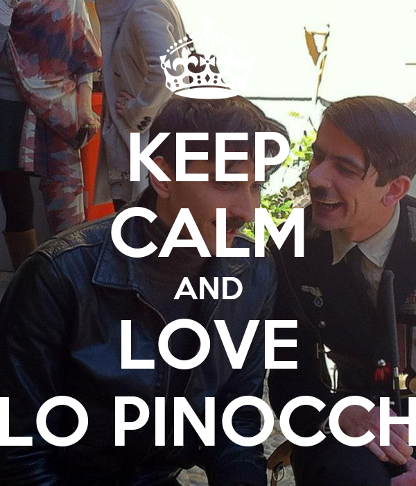 KEEP CALM AND LOVE PICCOLO PINOCCHIETTO