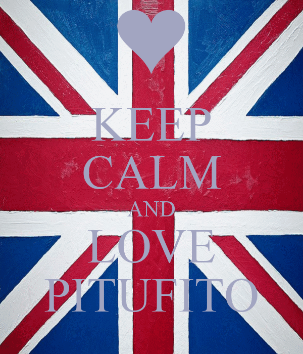 KEEP CALM AND LOVE PITUFITO