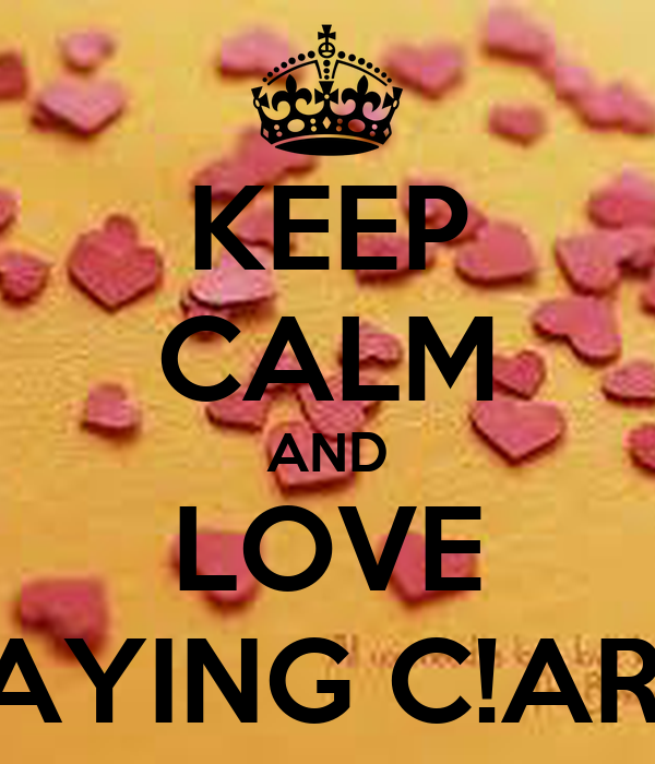 KEEP CALM AND LOVE PLAYING C!ARDS