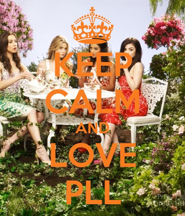 KEEP CALM AND LOVE PLL