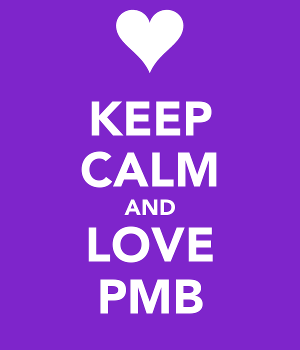 KEEP CALM AND LOVE PMB