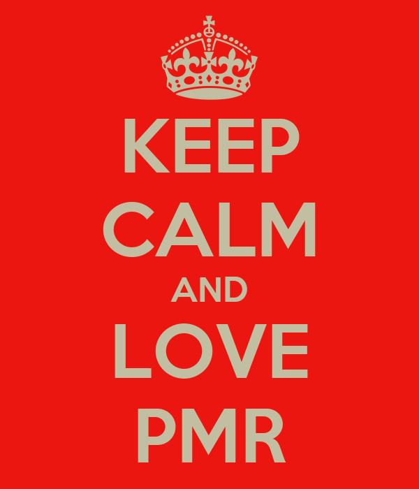 KEEP CALM AND LOVE  PMR