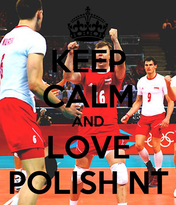 KEEP CALM AND LOVE POLISH NT