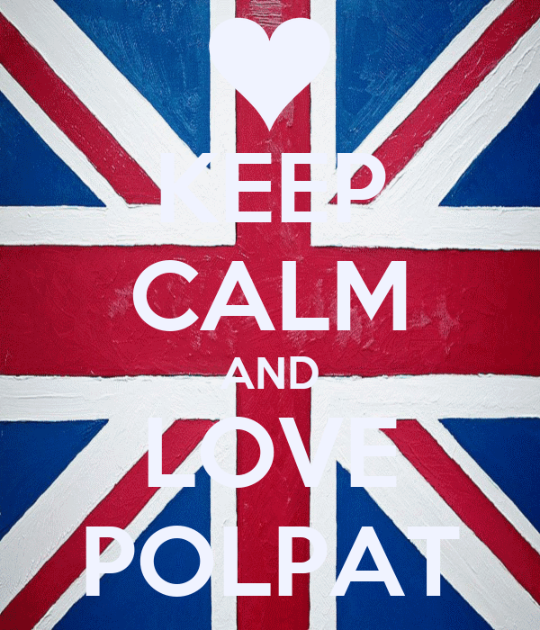 KEEP CALM AND LOVE POLPAT