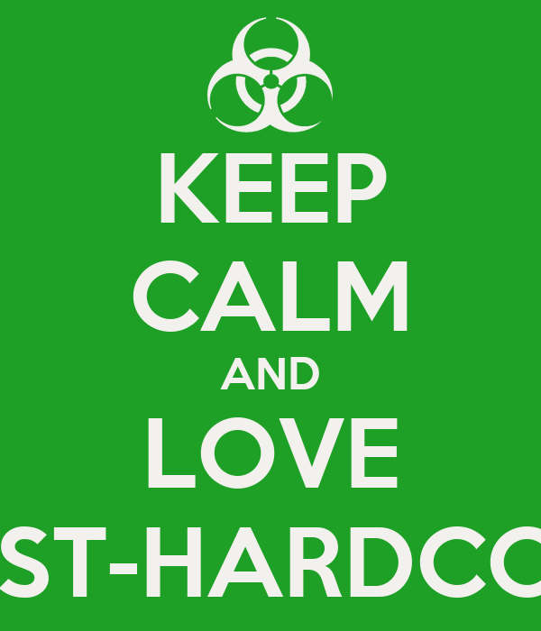 KEEP CALM AND LOVE POST-HARDCORE
