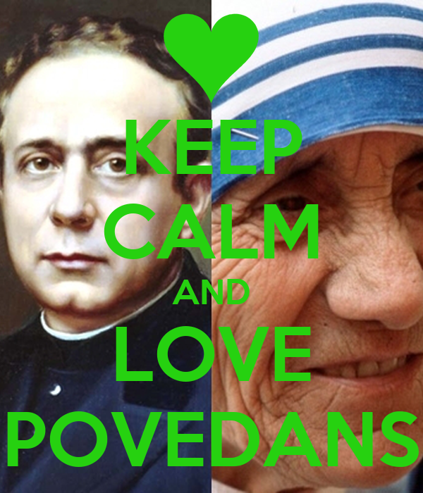 KEEP CALM AND LOVE POVEDANS