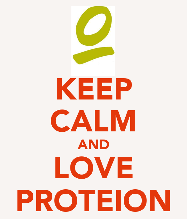 KEEP CALM AND LOVE PROTEION