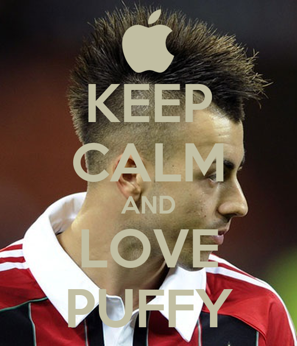 KEEP CALM AND LOVE PUFFY