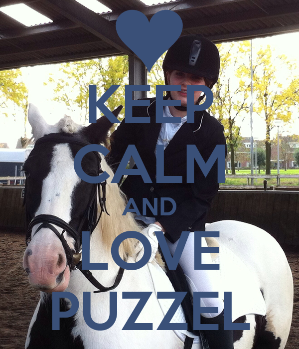 KEEP CALM AND LOVE PUZZEL