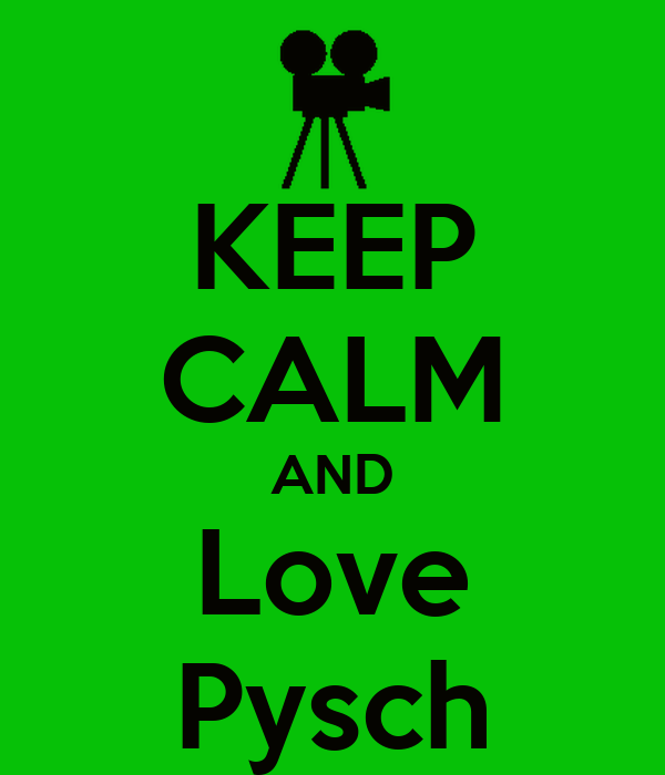 KEEP CALM AND Love Pysch