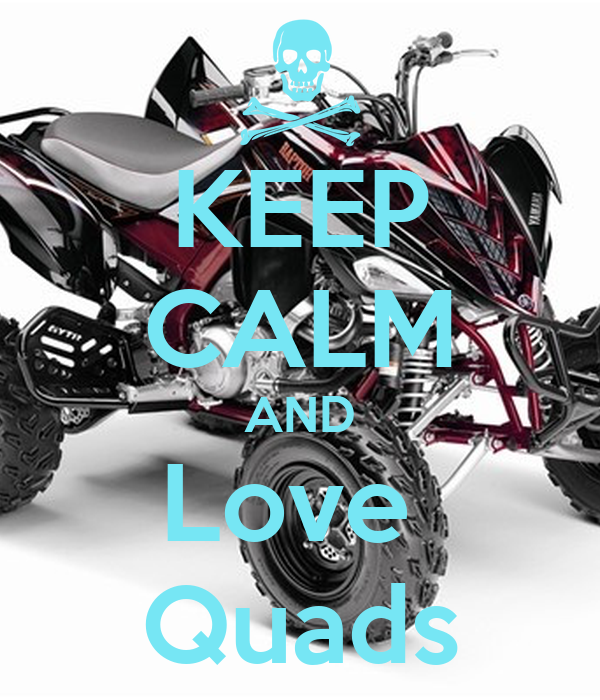 KEEP CALM AND Love  Quads