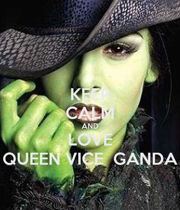 KEEP CALM AND LOVE QUEEN VICE  GANDA