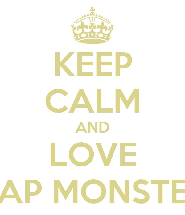 KEEP CALM AND LOVE RAP MONSTER