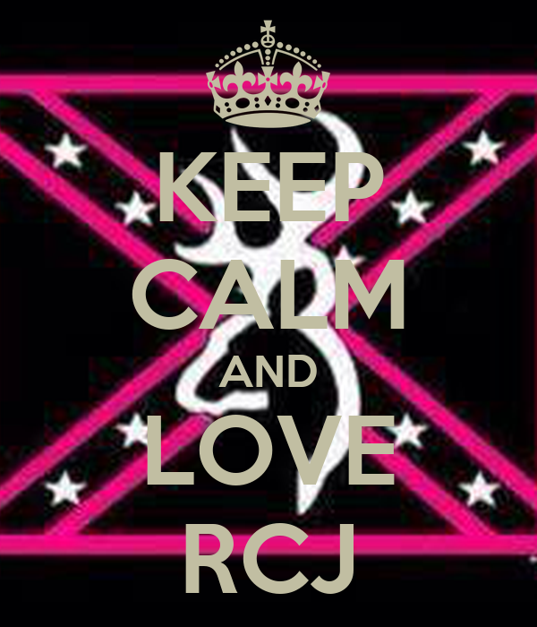KEEP CALM AND LOVE RCJ