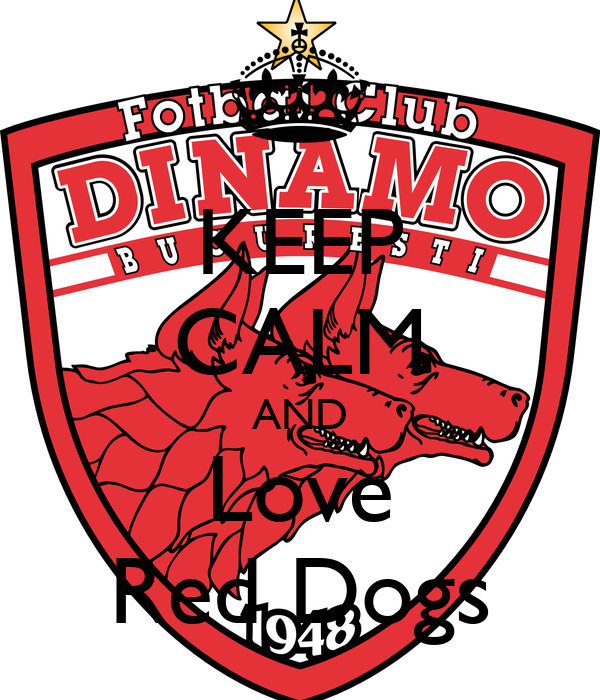 KEEP CALM AND Love Red Dogs