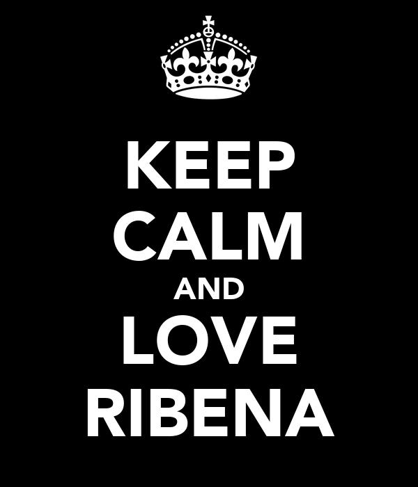 KEEP CALM AND LOVE RIBENA