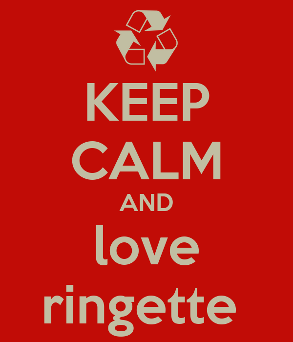 KEEP CALM AND love ringette