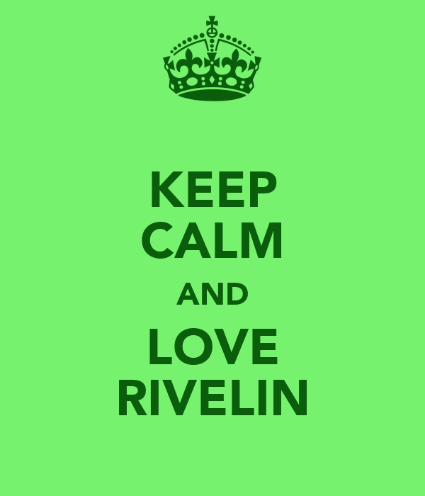 KEEP CALM AND LOVE RIVELIN