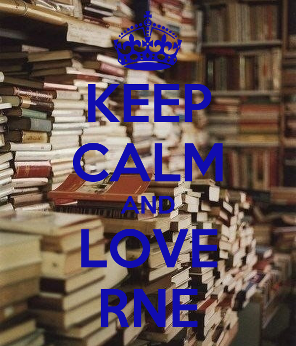 KEEP CALM AND LOVE RNE