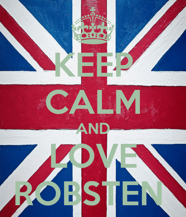 KEEP CALM AND LOVE ROBSTEN
