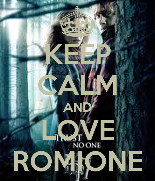 KEEP CALM AND LOVE ROMIONE