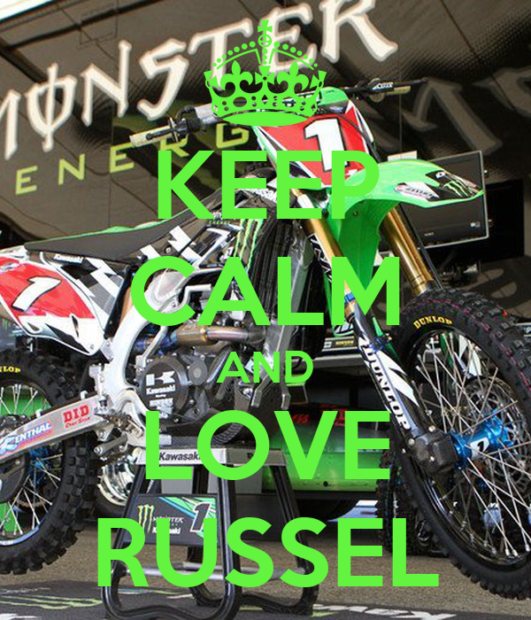 KEEP CALM AND LOVE RUSSEL