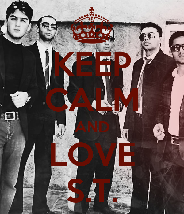 KEEP CALM AND LOVE S.T.