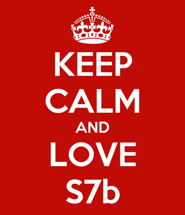KEEP CALM AND LOVE S7b