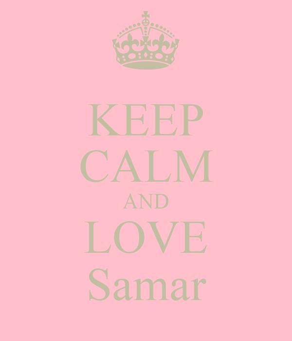 KEEP CALM AND LOVE Samar