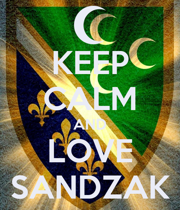 KEEP CALM AND LOVE SANDZAK