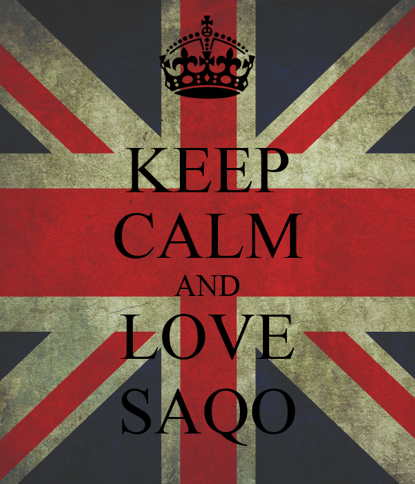 KEEP CALM AND LOVE SAQO
