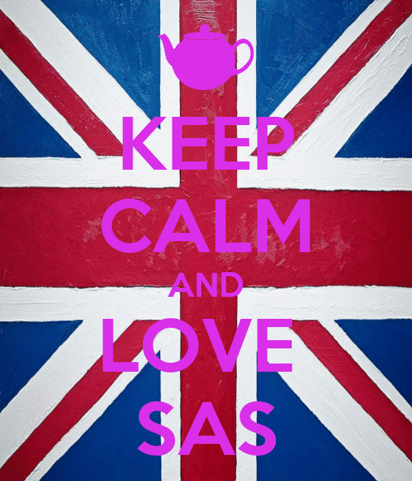 KEEP CALM AND LOVE  SAS