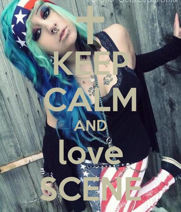 KEEP CALM AND love SCENE